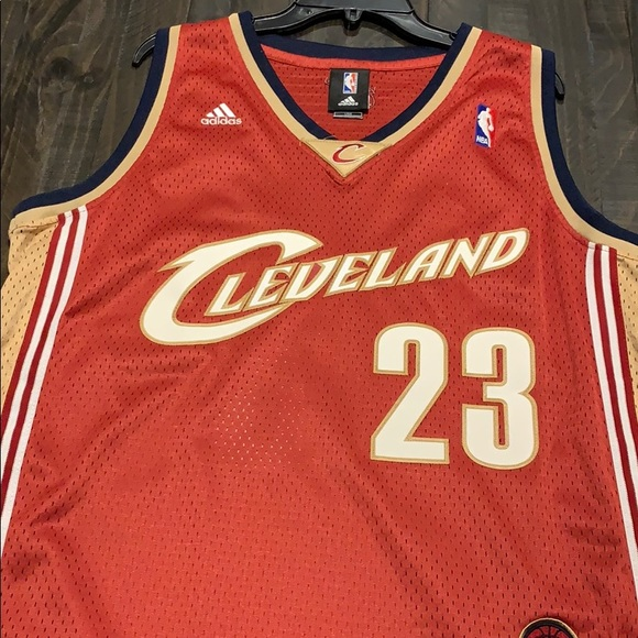 sports shoes 06ba8 5e9eb Limited Edition Lebron James Jersey Authentic